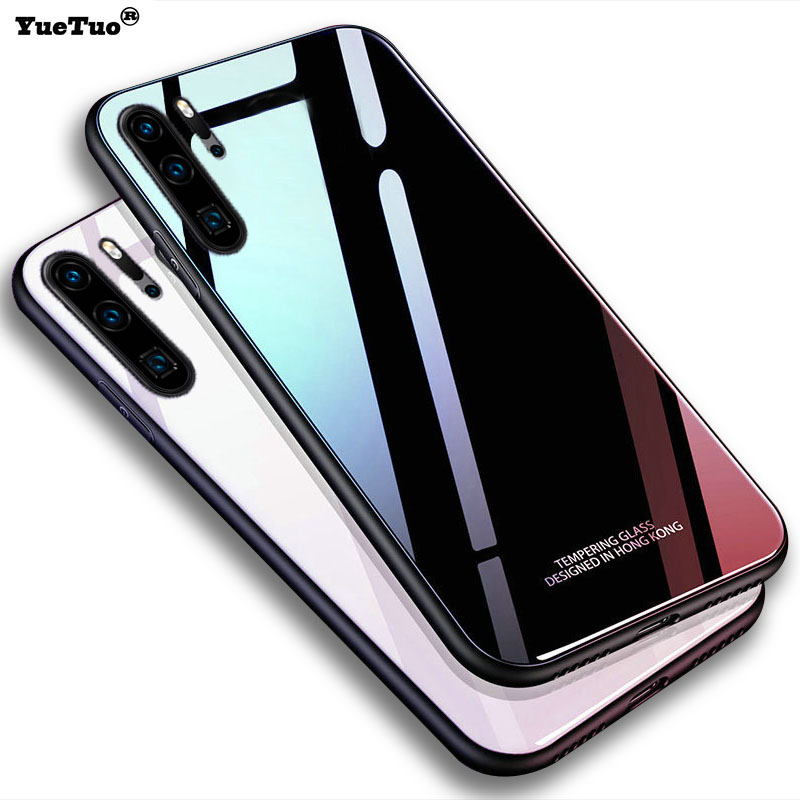YueTuo Luxury Original Hard Glass Mirror Case For Samsung Galaxy Note 10 Pro Plus Note10 10pro Silicone Back Hard Phone Cover