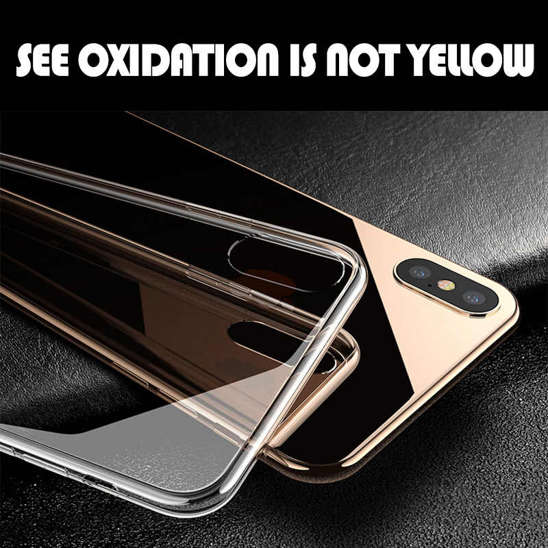واضح حقيبة لهاتف أي فون 11 X XS MAX 6S 7 8 Plus 10 5 5s SE سيليكون غطاء الهاتف على حقيبة لهاتف أي فون 7 8 6 Plus XR 6 11 Pro Max