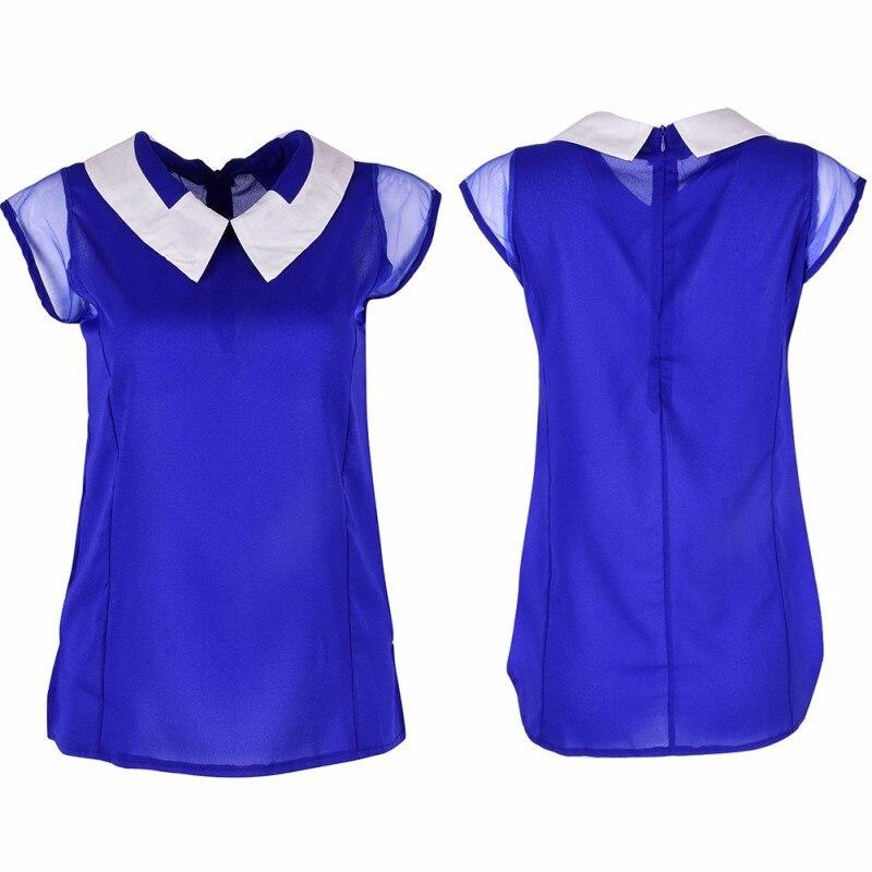 HTB1QVYLKXXXXXb8XVXXq6xXFXXXx - Women Summer Loose Chiffon OL Blouse Shirt