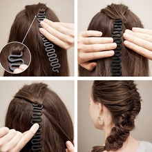 New French Braid Spider Centipede Hair Style Tray Implement