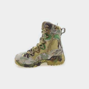Summer Tactical Boot Army Boots Men's Military Desert Waterproof Work Safety Shoes Climbing Sport Shoes Ankle Men Hiking Boots 5