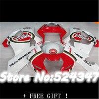 Hey Hey FREE SHIP FAIIRNG KIT for GSXR1000 03 04 GSXR 1000 2003 2004 GSXR1000 03 04 GSXR1000 2003 2004 WHITE+RED