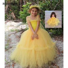 5c63d4cef7 Galleria yellow tulle dress all'Ingrosso - Acquista a Basso Prezzo ...