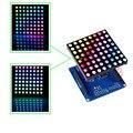 SunFounder Полноцветный RGB LED Matrix Driver Shield + RGB Матричный Экран Для Arduino