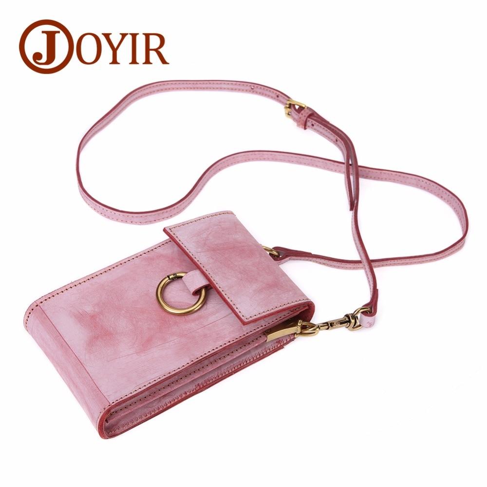 JOYIR Genuine Leather Crossbody Bags For Women Phone Bag Vintage Women Shoulder Travel Bags Mini Messenger Bag Female 2018 New