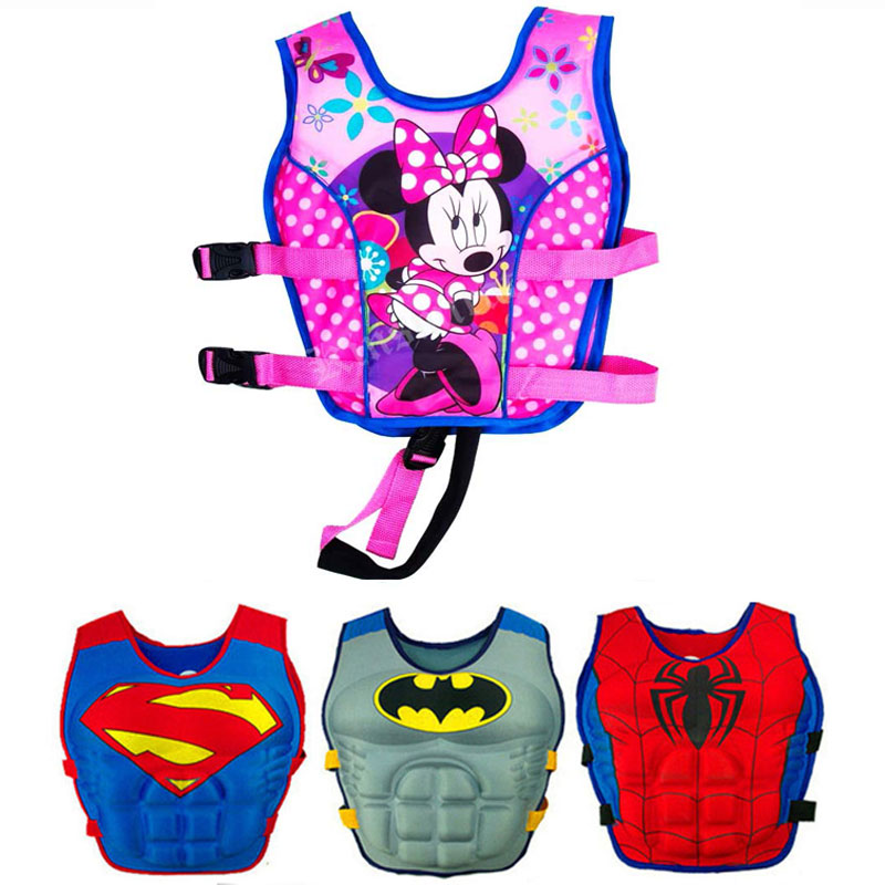 New Kids Life Jacket Floating Vest Boy Girl Swimsuit Sunscreen Floating swimming pool accessories ring For Drifting Boating