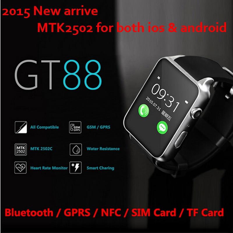Voll Kompatibel Gt88 Gprs Nfc Bluetooth Smart Uhr Für Apple
