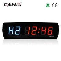 [Ganxin] 3 Led Фитнес Таймер Пульт дистанционного Управление тренажерный зал crossfit интервал таймера настенные часы