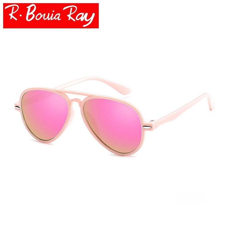 Doppel-große Rahmen Kinder Sonnenbrille Metall Sonnenbrille Jungen Und Mädchen Baby Gläser Großhandel Oculos Feminino Redondo