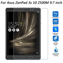 Tempered Glass For Asus Zenpad 3S 3 S 10.0 Z500 Z500M Screen Protector Tablet Tempered Glass 9H Protective Film