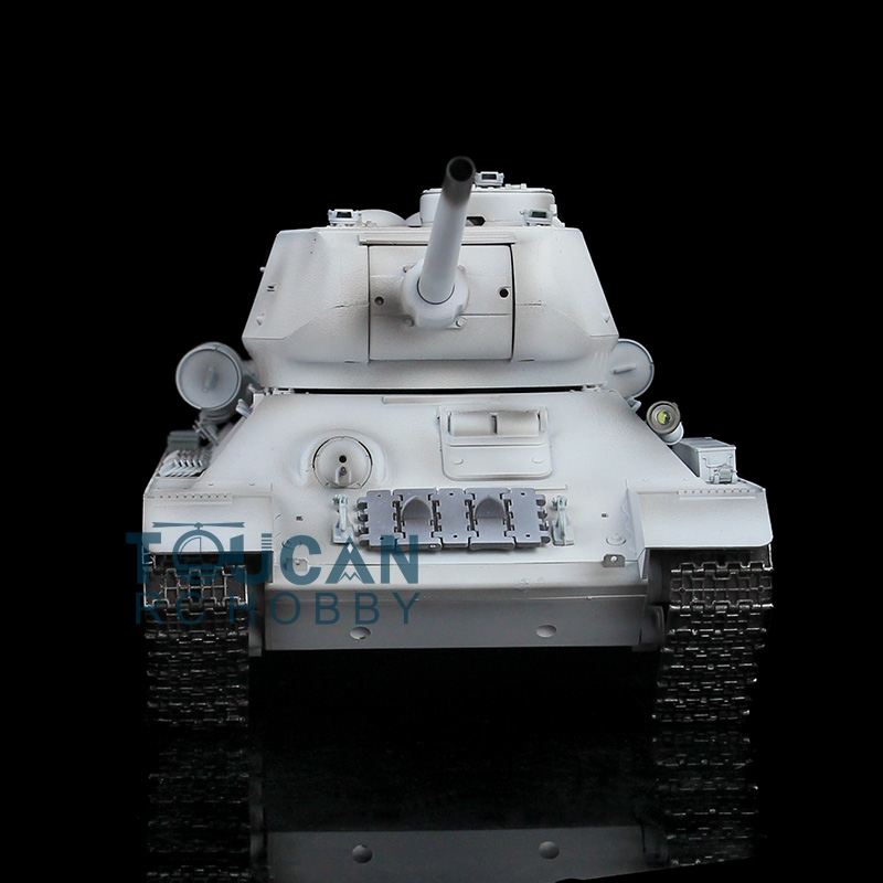 HengLong 1/16 Scale Winter Snow Plastic Version Soviet T34-85 RTR RC Tank Model 3909 revell model 1 25 scale 85 7457 69 camaro z 28 rs plastic model kit