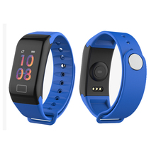 F1 Smart Watch With Heart Rate Blood Pressure Monitor Fitness Tracker IP67 Smartwatch Connect Iphone Android Phones