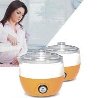 Electric  Yogurt Machine Stainless Steel Liner Mini Automatic Yogurt Maker 1L Capacity 220V
