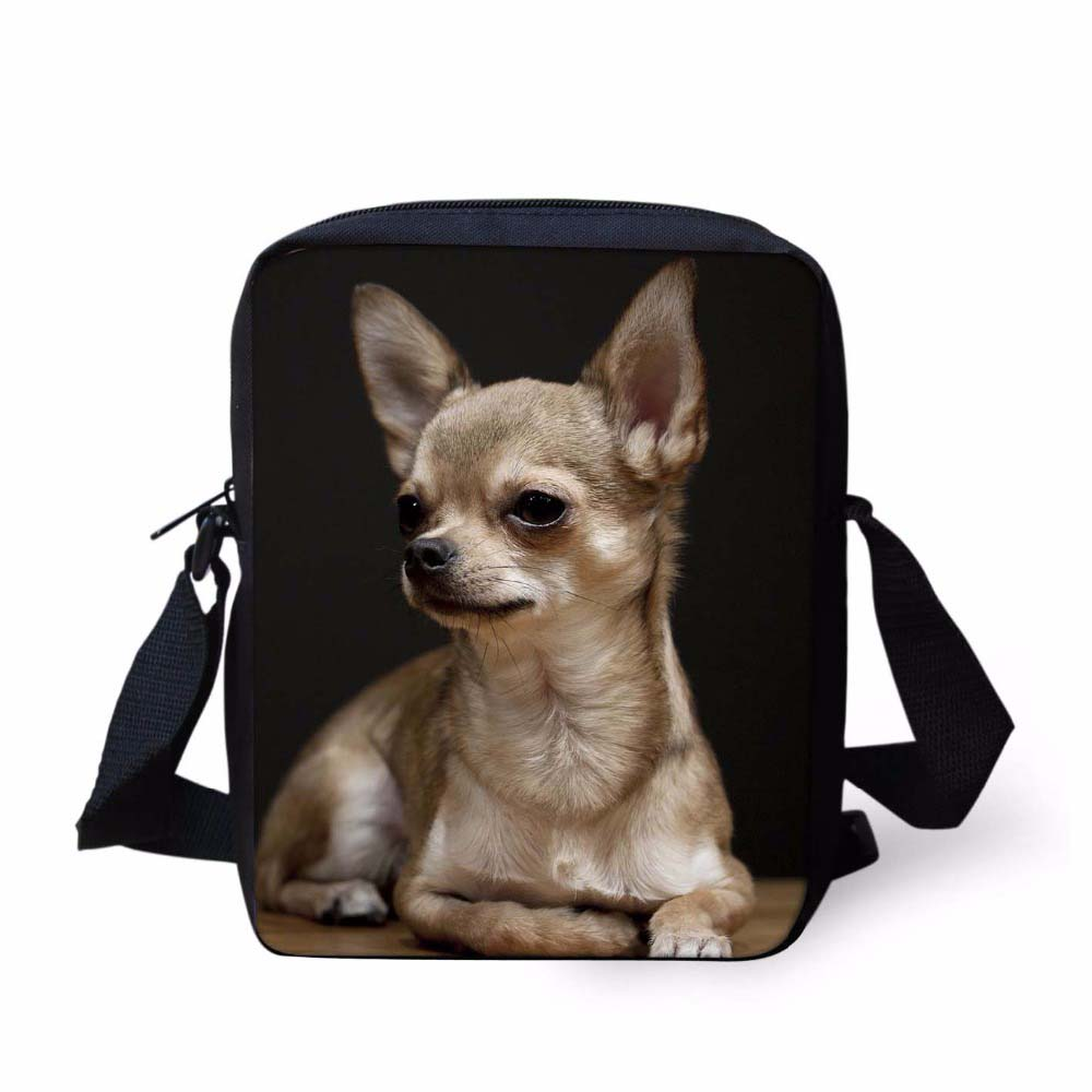Customized Women Small Crossbody Bag 3D Chihuahua Dog Animal Woman Fashion Messenger Bags For Ladies Shoulder Bolsas MochilasCustomized Women Small Crossbody Bag 3D Chihuahua Dog Animal Woman Fashion Messenger Bags For Ladies Shoulder Bolsas Mochilas