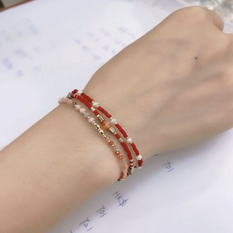 Delica Miyuki Bracelet Boho Style Friendsship Seed Beads Bracelets For Women Rope Chain Jewelry Gift Drop Ship in Charm Bracelets from Jewelry Accessories