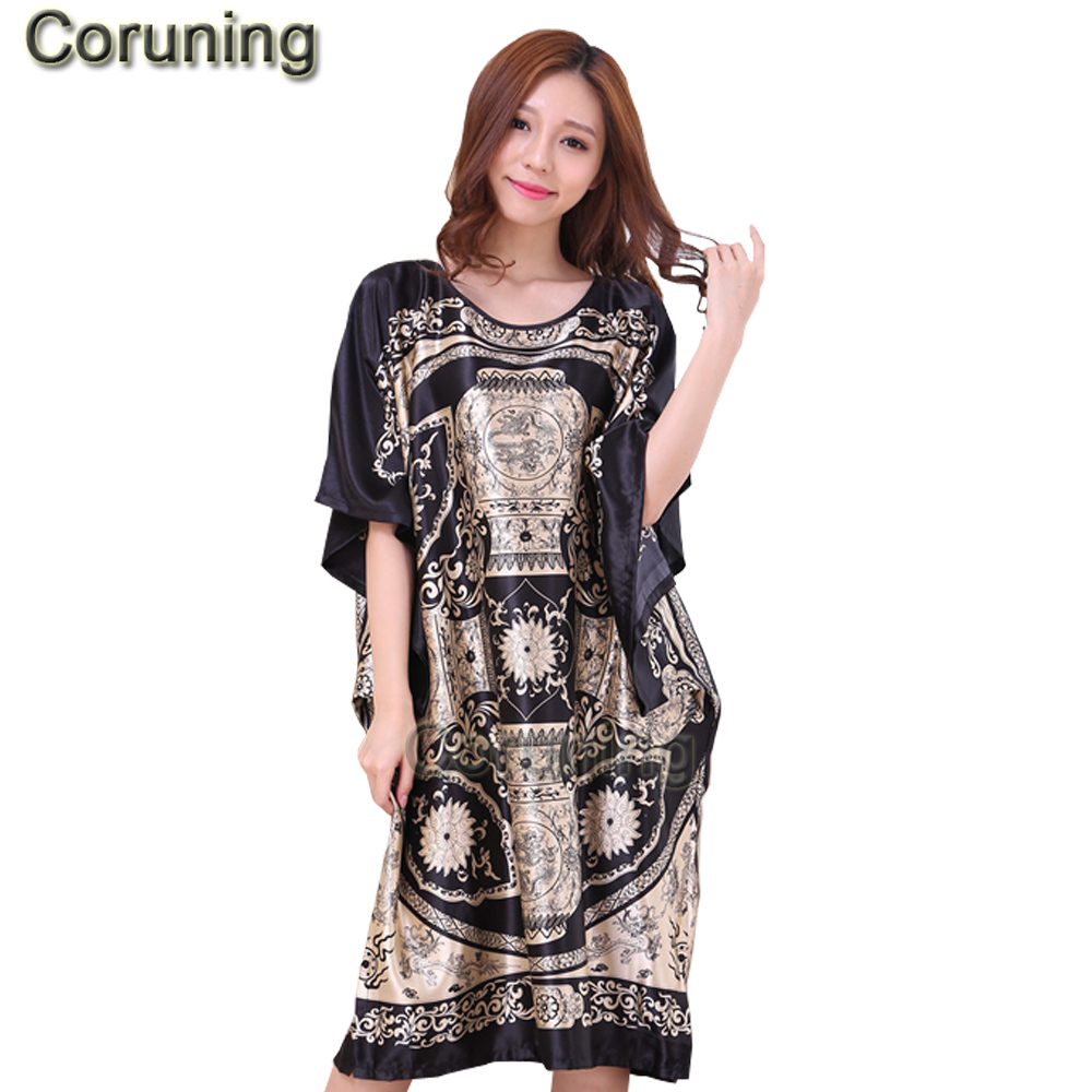 2017 Summer Floral Robe Pyjama Women Sleepwear nightwear Home Clothing Bathrobe Nightdress Home Gown sexy Sleepwear Nightgowns стоимость