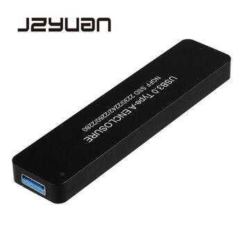 を Jzyuan NGFF M.2 SATA usb 3.0 Ssd 収納ケース変換アダプタケースサポート 2230/2242/ 2260/2280