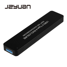 JZYuan NGFF M.2 SATA to USB 3.0 SSD External Enclosure Storage Case Converter Adapter Case Support 2230/2242/2260/2280