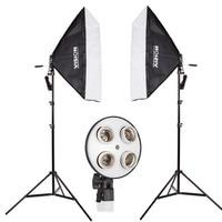 photography studio lighting kit Photography light set tetralogy lamp softbox studier set product photography equipment CD50