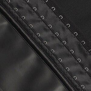 Image 5 - اللاتكس الرجال مشد مدرب خصر 9 الصلب الجوفاء محدد شكل الجسم مشد للخصر مشد حزام حزام الرجال ملابس داخلية الرجال فقدان الوزن حزام