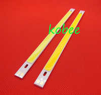 200*10 มม. COB LED Strip 10 W สูง CRI 9-11 V COB บาร์ 15 W super bright COB ไดโอดสำหรับ DIY โครงการแสง 10 ชิ้น/ล็อต