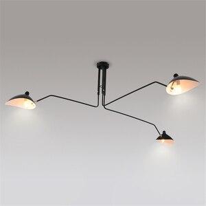 Image 3 - Nordic LOFT LED Ceiling lights Metal Living Room Ceiling lamp Dining Room Decor Lustre Hanging Lamp Fixtures Indoor decorations