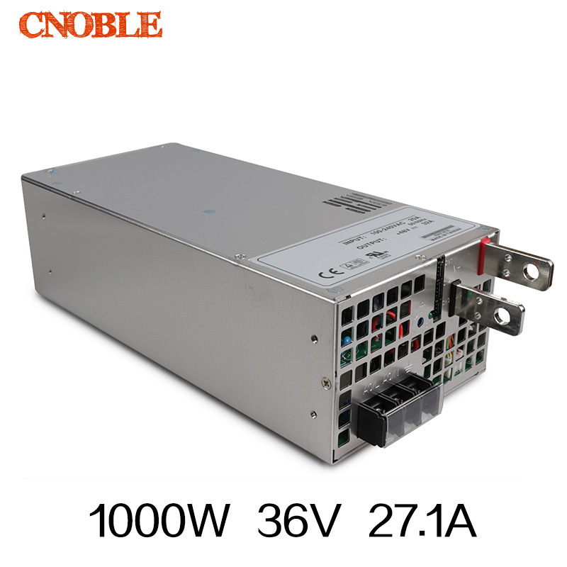 ФОТО 1000W 0 to 36V adjustable 27.1A Single Output Switching power supply AC to DC 110V or 220V