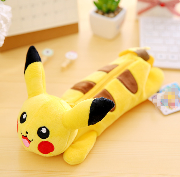 Super CUTE Plush Pikachu Toy - 23CM Approx. Plush Stuffed Toy For Coin Toys BAG Plush Toy Doll BAG