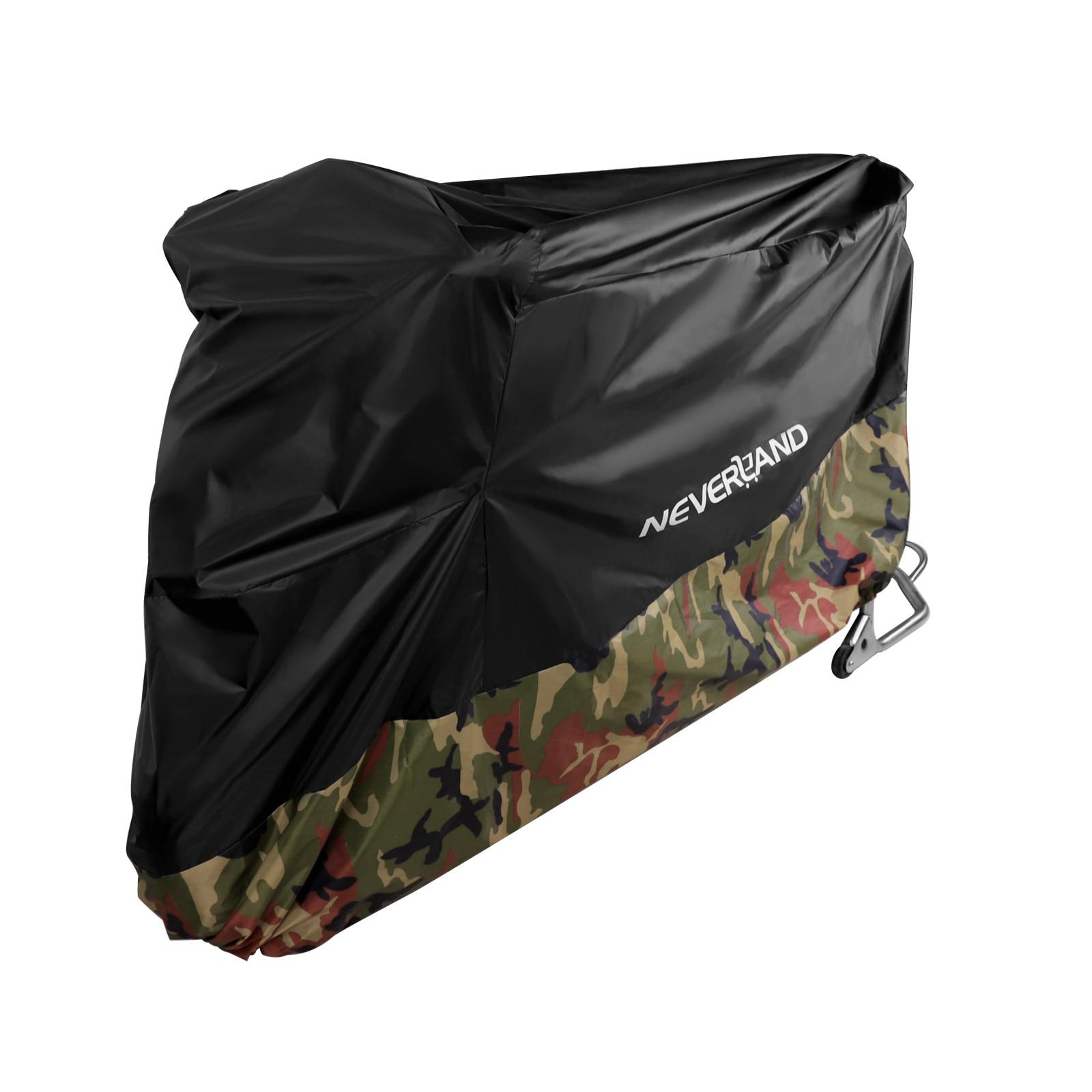 190T Waterproof Rain Dust UV Outdoor Indoor Protector Motorcycle Cover Coat For Motorcycles Scooter Bike M L XL XXL XXXL