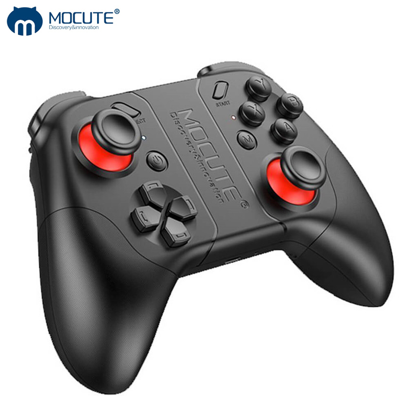 Mocute 053 Dzhostik Game Pad Bluetooth Gamepad Pubg Controller Mobile Trigger Joystick For iPhone Android Smart Phone PC Triger in Gamepads from Consumer Electronics