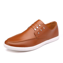 New Nice Men Slip On  Brown Casual Platform Men Rivet Breathable Lazy Loafers Men Mocassins Size 28-62