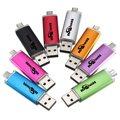 Bestrunner новые конфеты цвет USB флэш-накопитель Pendrive смартфон привода 4 ГБ OTG внешнее запоминающее планшет пк USB 2.0