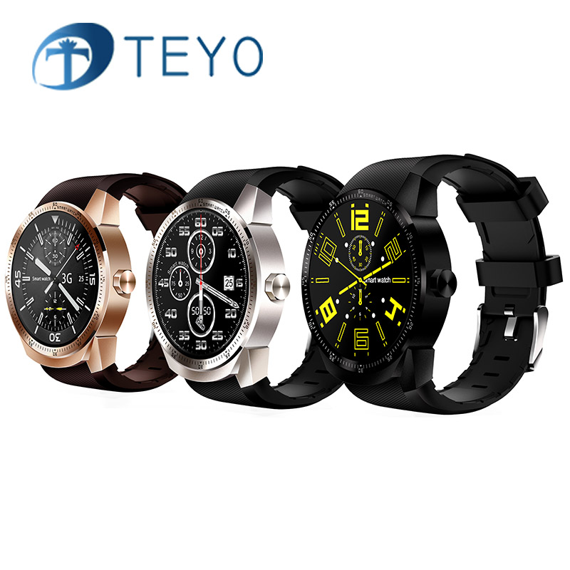 Teamayo Bluetooth Smart Watch Heart rate monitor cardiaco Smartwatch Fitness bracelet Waterproof with3G GPS Wifi Fitness