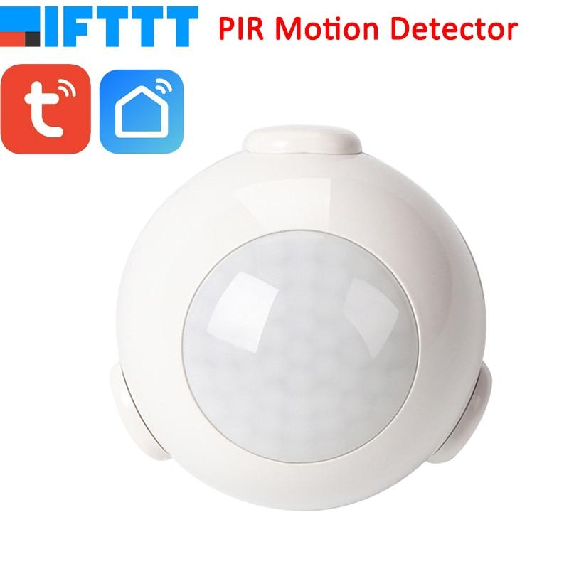 Smart Life Battery Powered WiFi Tuya PIR Motion Sensor Detector Home Alarm System work with IFTTTSmart Life Battery Powered WiFi Tuya PIR Motion Sensor Detector Home Alarm System work with IFTTT