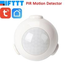 цены на Smart Life Battery Powered WiFi Tuya PIR Motion Sensor Detector Home Alarm System work with IFTTT  в интернет-магазинах