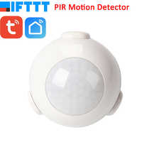 Smart Life Battery Powered WiFi Tuya PIR Motion Sensor Detector Home Alarm System work with IFTTT