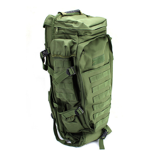 4012f7e63f36 Multi-Mission Gun Bag Outdoor military tactical backpack Molle Extended  Full Gear Dual Rifle Gun ackpack