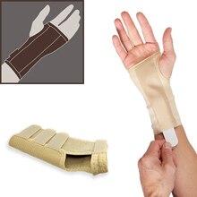 Медицинская поддержка запястья Дышащие подтяжки запястья для запястья запястного тоннеля шина скобка облегчение боли заживление растяжение артрита травма запястья