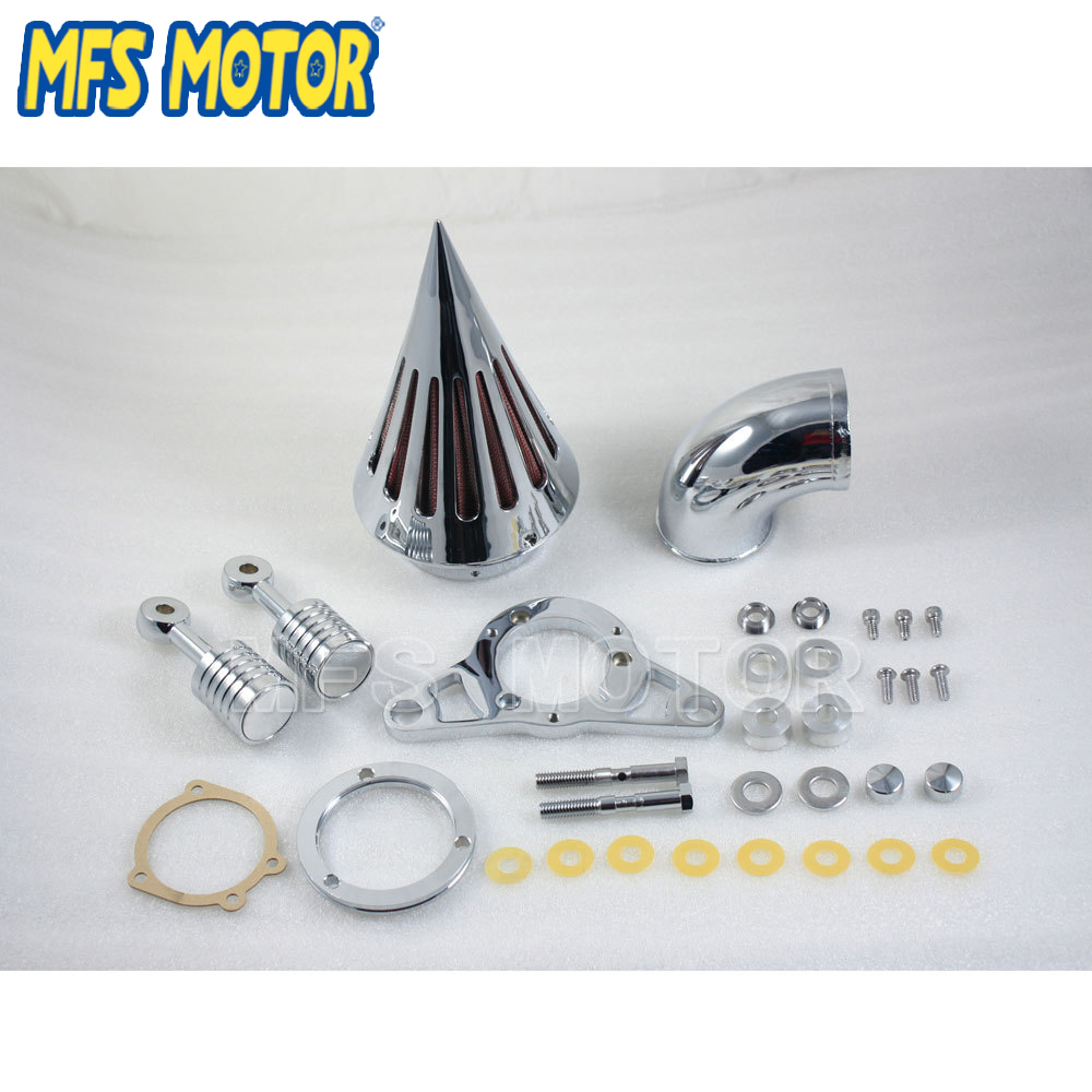 Motorcycle NEW Air Cleaner Filter Kit for Harley Softail Night Train EFI 2004 2005 2006 2007 04 05 06 07