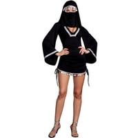 Moneda de Plata Trim & Cara Velo misterioso Negro Medio Oriente Burka Mujer Árabe Costume Party Girls Dress Costume y L1308