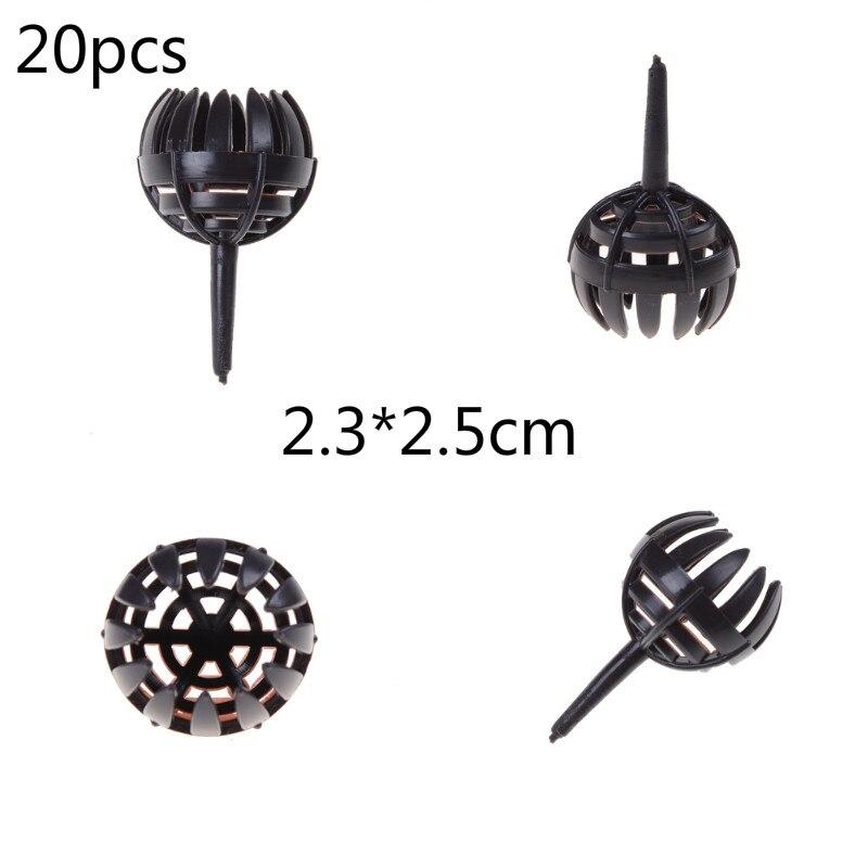 20 PCS 2.3cm*2.5cm Small Size Fertilizer Cover Plastic Bonsai Tools