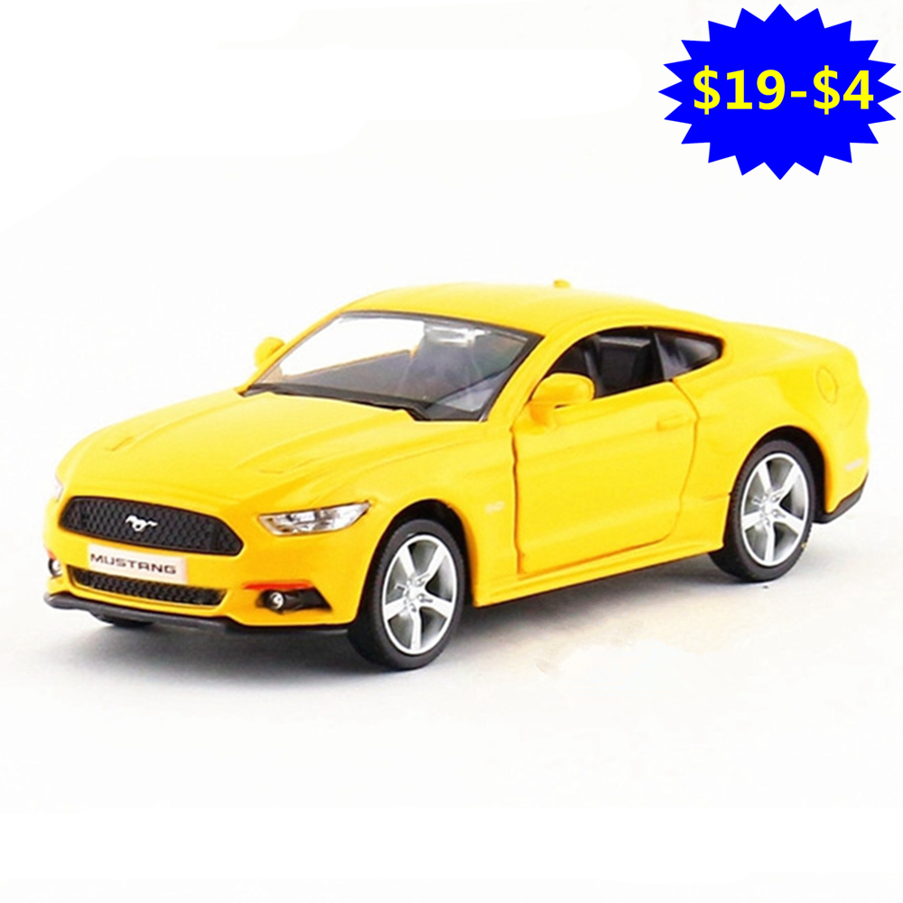RMZ 1:36 2015 GT Sports Car Toy, Miniature Racing Cars Model For Boys, Pull Back Doors O ...