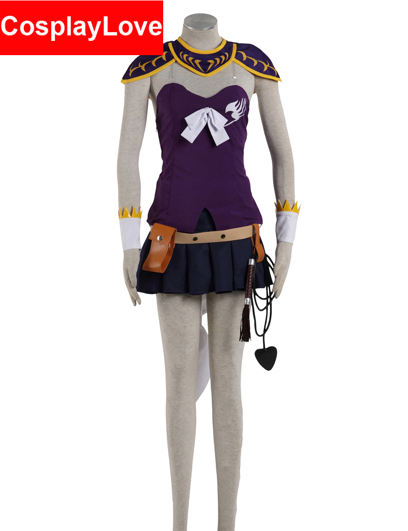 2016 Vysoce kvalitní rozprávková cosplay Lucy Heartfilia Oblek 2. Lucy Cosplay kostýmy