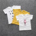 Bobo Choses 2017 Fashion Summer Cotton Short Sleeve Top T-shirt Costume For Kids Children Clothing Bosudhsou Boys Girls Clothes