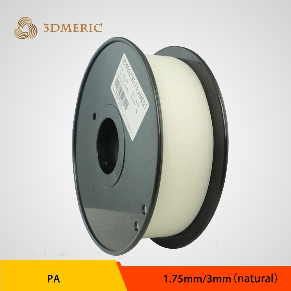 1.75mm 3mm 1KG/Spool Transparent PA Nylon 3D Printer Filament Consumables Material
