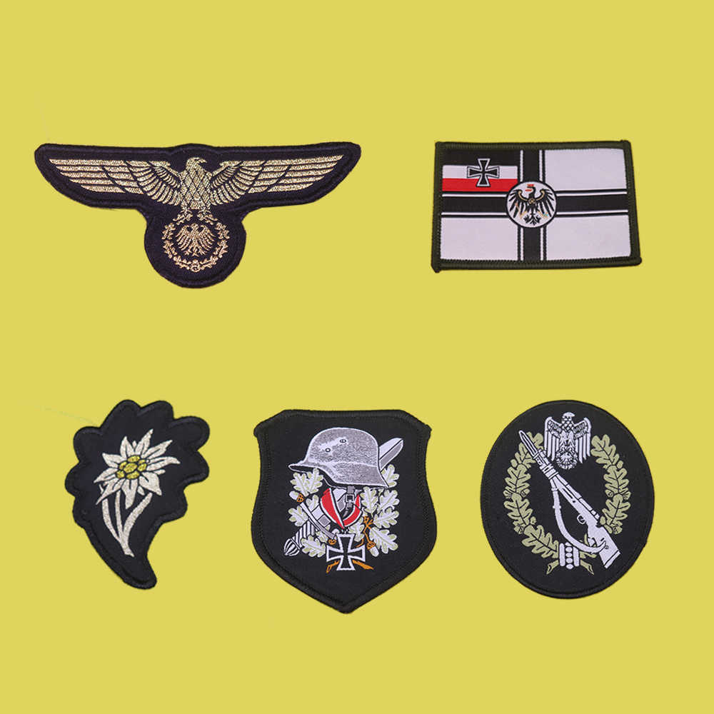 WW2 Bahasa Jerman Patch Bordir