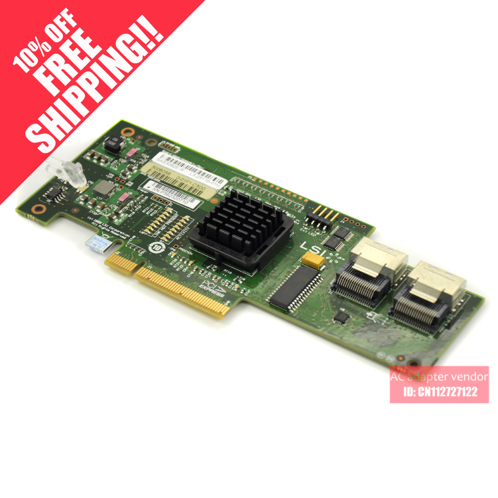 FOR IBM 3650/3550 M2/M3 BR10I LSI SAS array card mini-port RAID card 44E8690