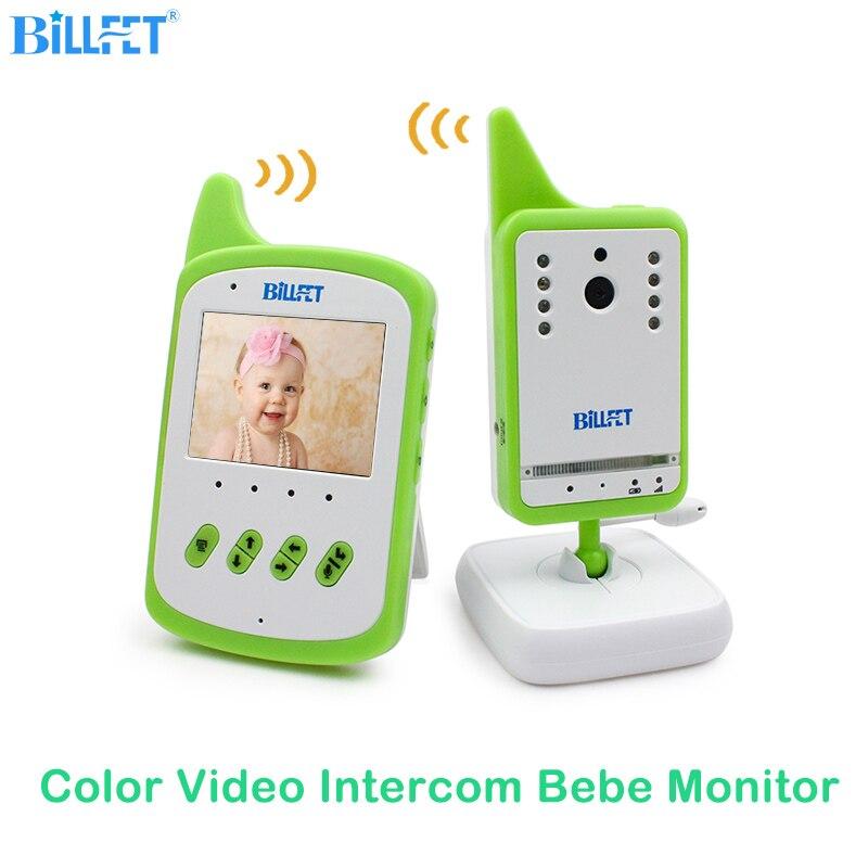 Moniteur bébé numérique sans fil caméra vidéo bebe bébé interphone berceuse VOX Vision nocturne infrarouge babyphone nounou baba babycam