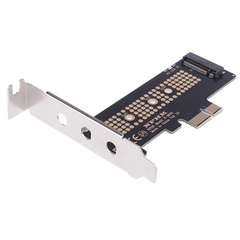 NVMe PCIe M.2 NGFF SSD na kartę PCIe x1 karta PCIe x1 na kartę M.2 ze wspornikiem