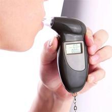 Цифровой тестер на алкоголь ЖК-Тестер дыхания Алкотестер Тестер спирта анализатор детектор